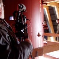 ...und innen, um die interessanten Details des Massivhauses mit der Kameralinse einzufangen.
