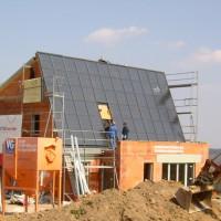 23. März 2006: Spätestens jetzt ist das ENERGETIKhaus100® eindeutig zu erkennen!