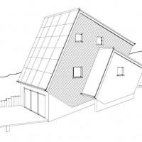 Skizze zu ENERGETIKhaus100® cube