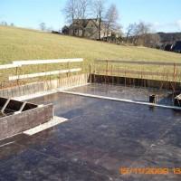 15. November 2009: Die erste von insgesamt drei Etagen ist fertig.