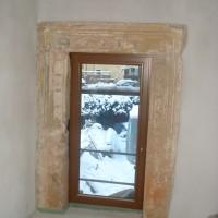 Behutsam erfolgt die Integration neuer Bauelemente neben den historischen.