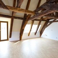 Großzügige Wohnräume sorgen z.B. in der Maisonette-Wohnung für heimelige Atmosphäre.