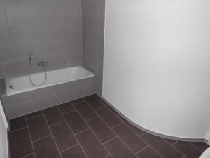 ENERGETIKhaus100® historio II - Innenansicht. Badezimmer