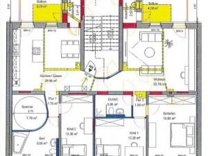 ENERGETIKhaus100® historio II - Grundriss (Beispiel)
