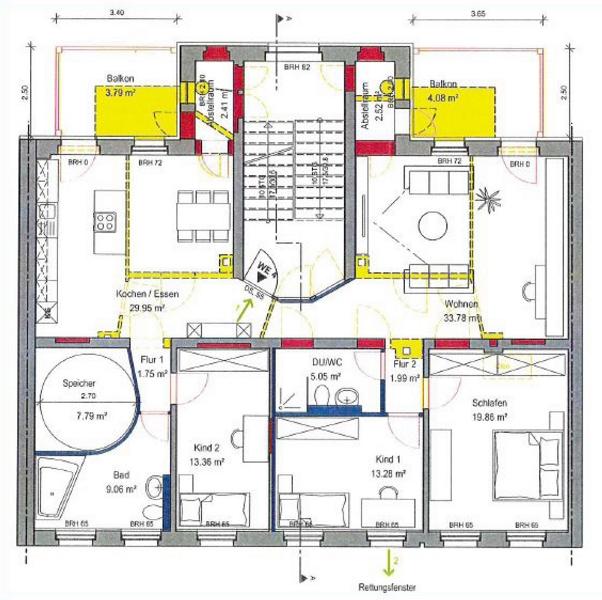 energetikhaus100 historio ii grundriss beispiel - Mehrfamilienhaus Grundriss Beispiele