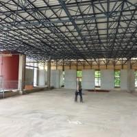 18. Juni 2010: Das ging schnell: nach wenigen Tagen ist das Dach neu gedeckt.