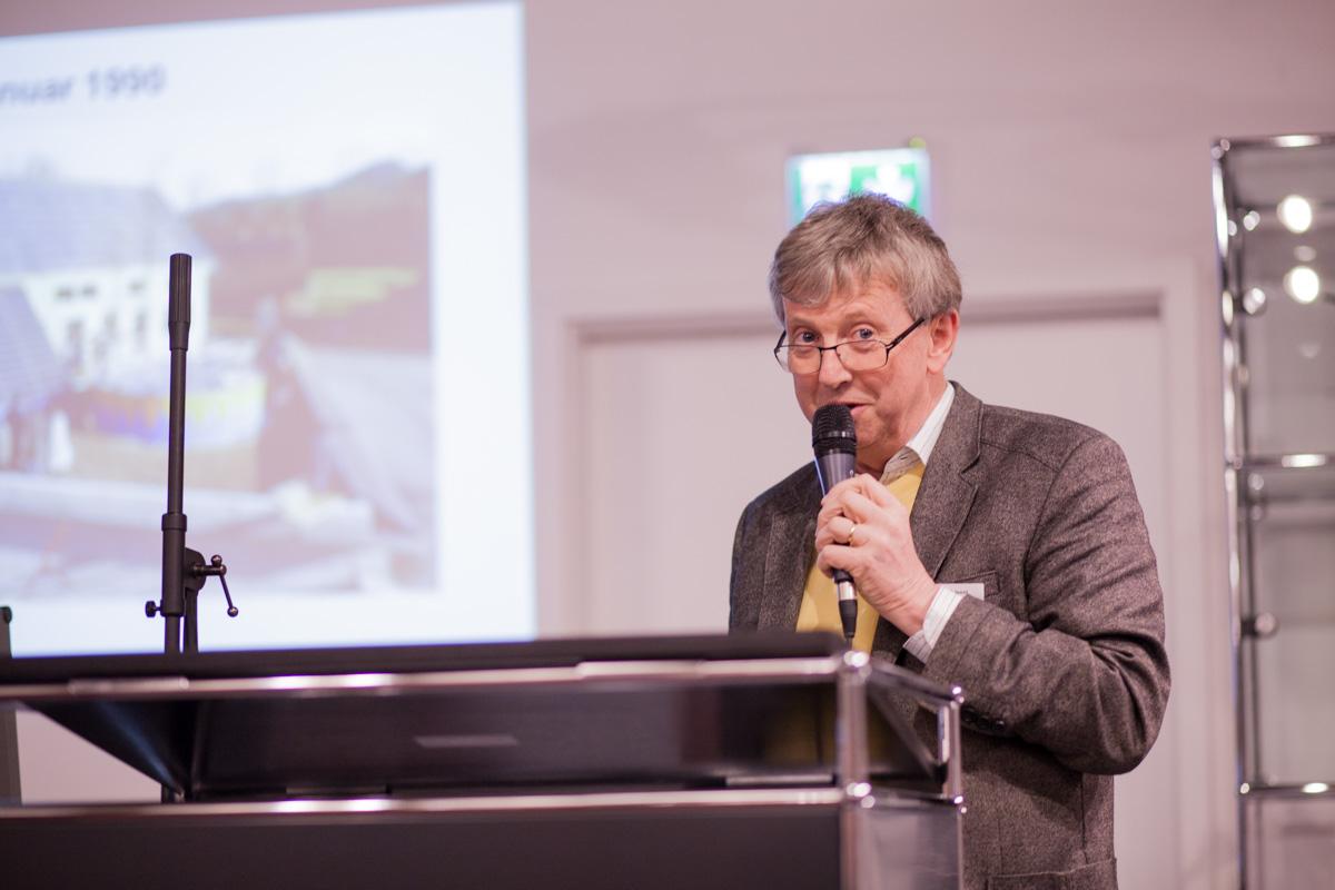 25 Jahre FASA AG: Solarpionier Josef Jenni aus der Schweiz
