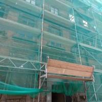 29.05.2015 Auch in der Kanalstr. 19 sind die Bauarbeiter fleißig zu Werke.