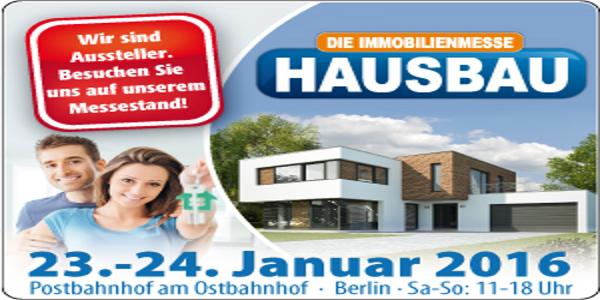 Baumesse Berlin 2016-01: Hausbau & Energie