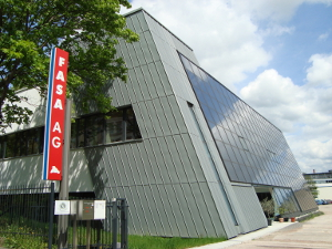 Firmensitz der FASA AG: ENERGETIKhaus100® office