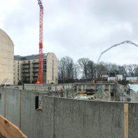 2020-03-03 Betonierung Tiefgaragenwände