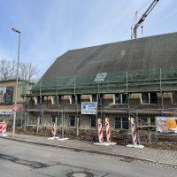 2021-03-09 Bautenstand März Straßenansicht