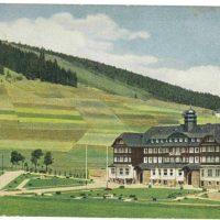(1) Postkarte Sporthotel